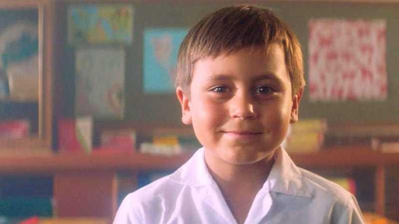 Хлопчик в класі